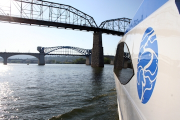 Image: 'Seven Bridges' Cruise Aboard the River Gorge Explorer