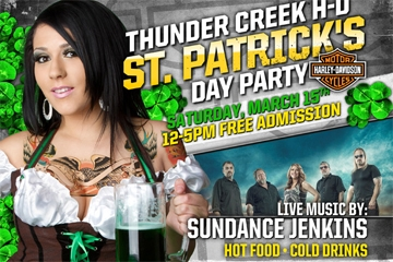 Image: St. Patrick's Day Party & Bike Show @ Thunder Creek HD