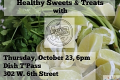 """Image: The Chattery presents """"Raw Foods: Healthy Sweets & Treats"""""""