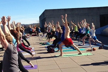 Image: Artful Yoga: Bring On The Beat Of The Summer Heat