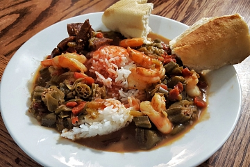 """Image: The Chattery Presents """"How To Make Gumbo From Scratch"""""""