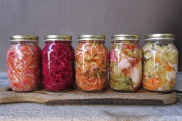 """Image: The Chattery Presents """"Vegetable Fermentation"""""""